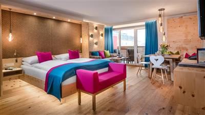 Hotel Impuls Tirol Zirben Suite deluxe