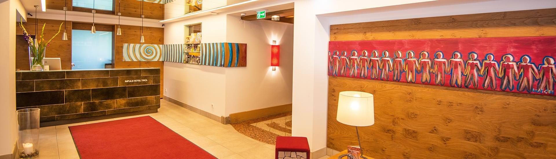 Genießen Sie Ihren Aufenthalt im Impuls Hotel Tirol