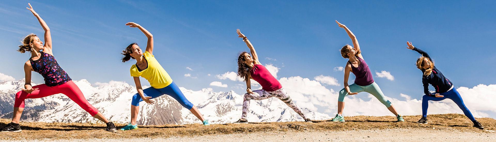 Erleben Sie ein vielfältiges Yogaprogramm im Impuls Hotel Tirol